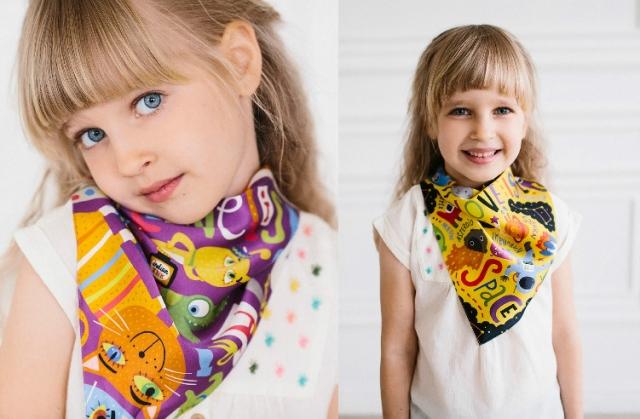 где купить шелковый платок для детей
