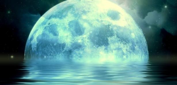 голубая луна в январе когда
