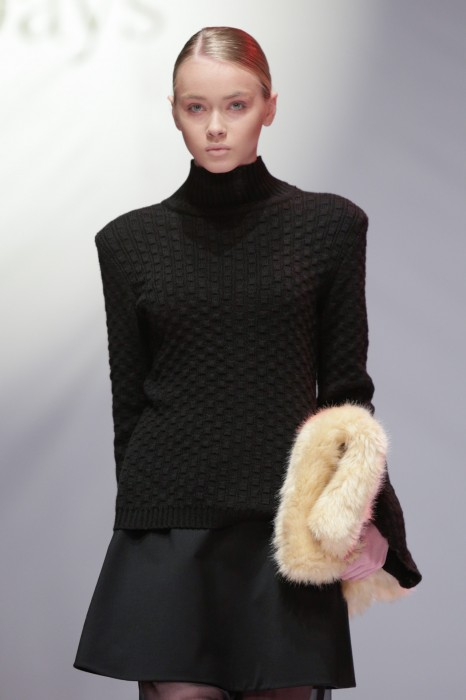 Kiev Fashion Days: коллекция Omelya Atelier осень-зима 2014-2015 - фото №4