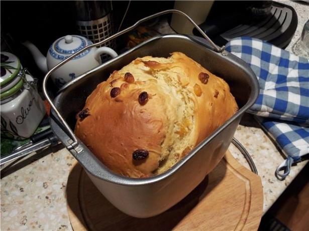 Пасха: как приготовить кулич в хлебопечке - фото №1