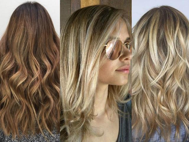 Техника окрашивания волос 2016: Hair strobing