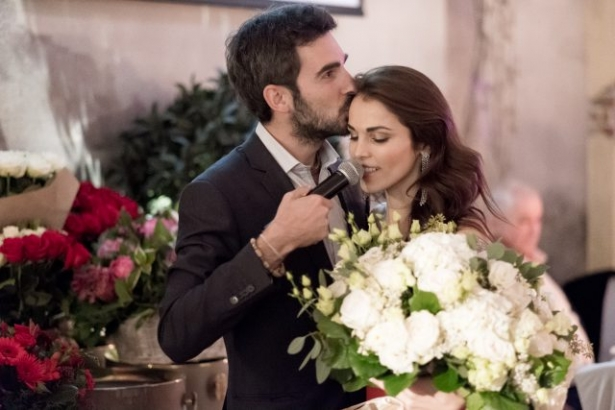 сати казанова и Стефано Тиоццо поженились
