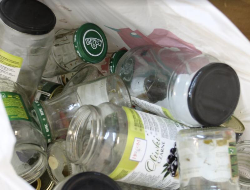 Знак переработки мусора фото