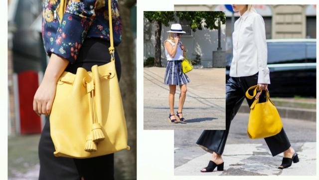 Street style: как и с чем носить желтый цвет (50+ фото)