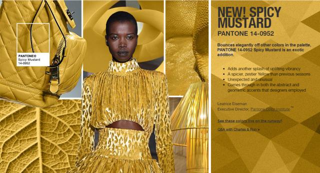 10 главных цветов осени 2016 по версии Pantone