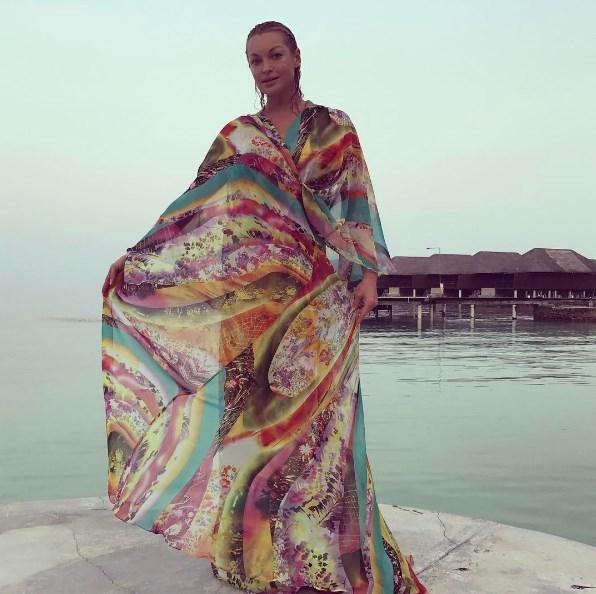 Анастасия Волочкова рассказала, на сколько похудела во время отдыха на Мальдивах - фото №1