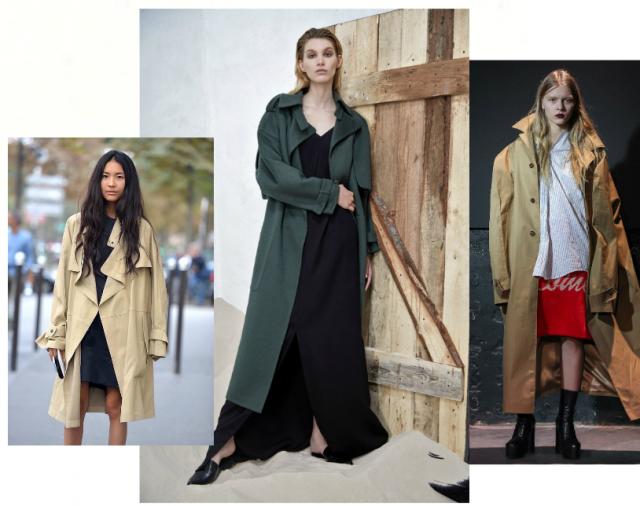 Модные плащи и тренчи на осень 2016 купить