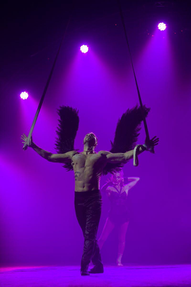 цирк кобзов шоу в воздухе