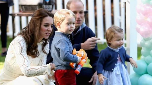 кейт миддлтон и принц уильям дети