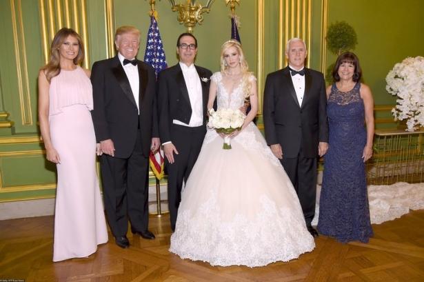 мелания трамп на свадьбе