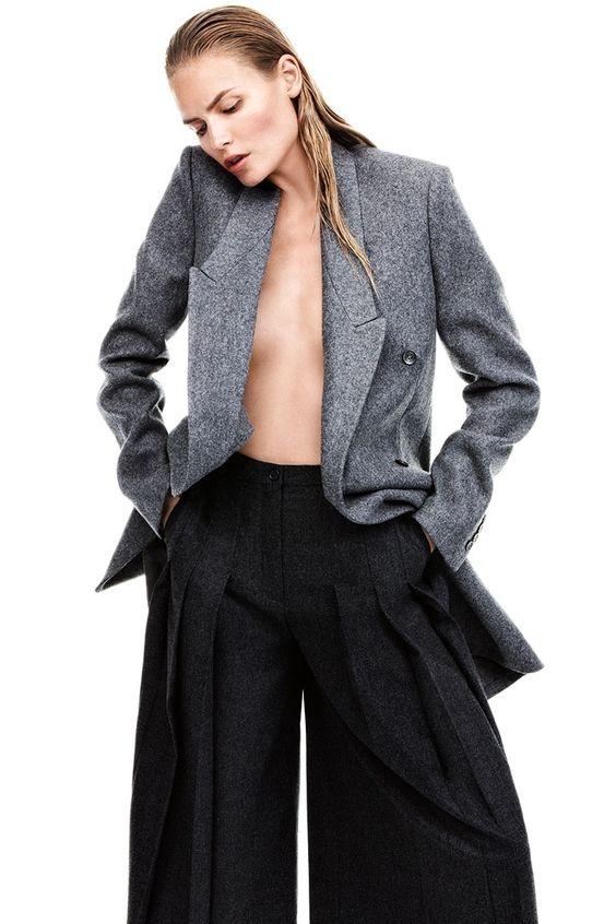 модные широкие брюки 2017    широкие женские брюки с защипами фото