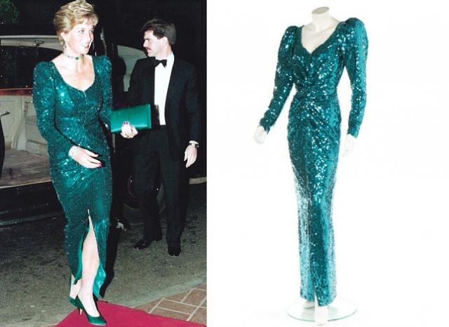 Сколько стоят платья принцессы Дианы: три наряда Леди Ди выставлены на продажу