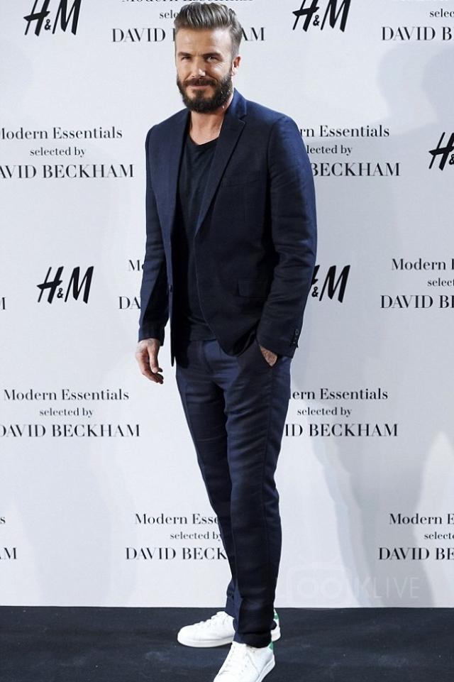 Мужской дресс-код smart casual 2016 Дэвид Бекхэм