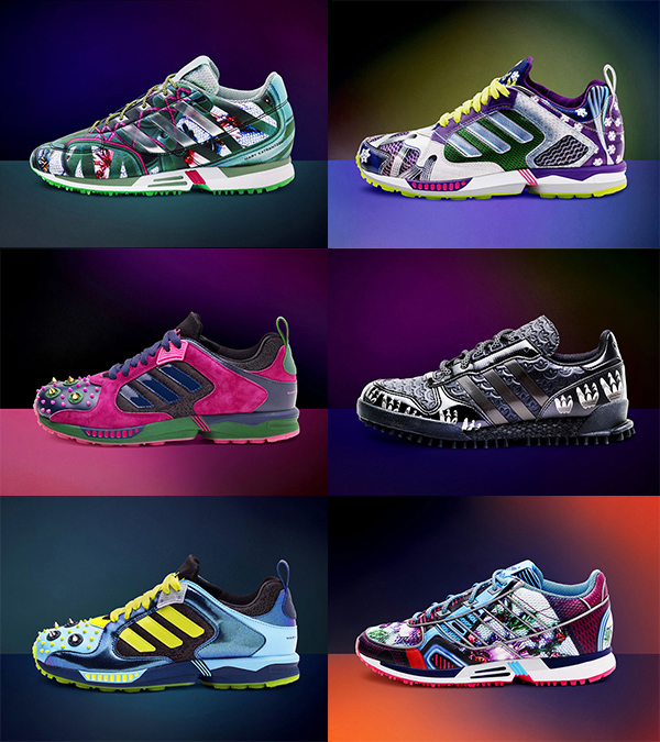 Кроссовки adidas Originals by Mary Katrantzou - фото №2