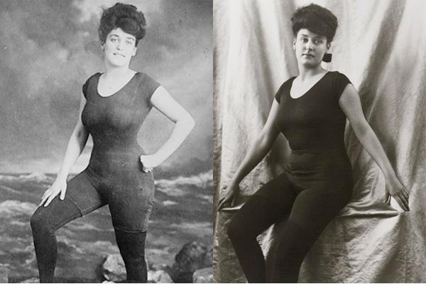 Как менялись женские купальники за 125 лет: видео - фото №2