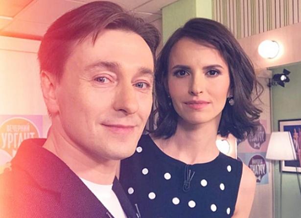 Безруков с женой