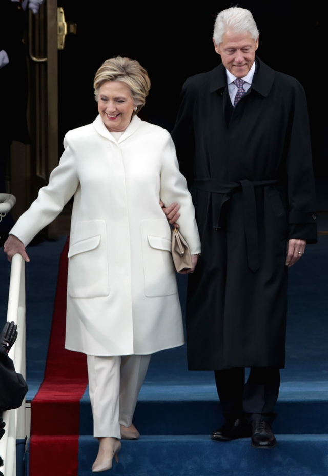 Инаугурация Трампа Хиллари Клинтон костюм фото