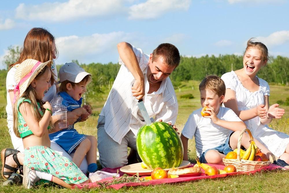 пикник для детей на природе