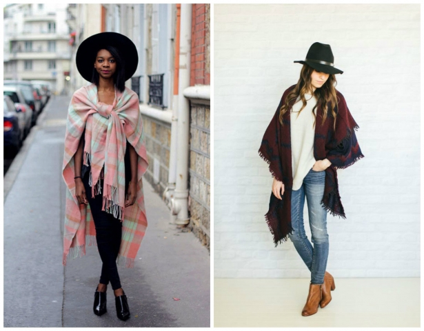 Как завязать палантин, шарф, платок. Видеосовет - фото №2