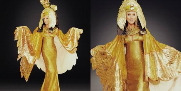 Неповторимая Хайди Клум: потрясающие костюмы супермодели на Хэллоуин - фото №12