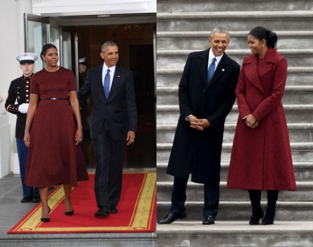 Инаугурация Трампа Мишель Обама образ фото