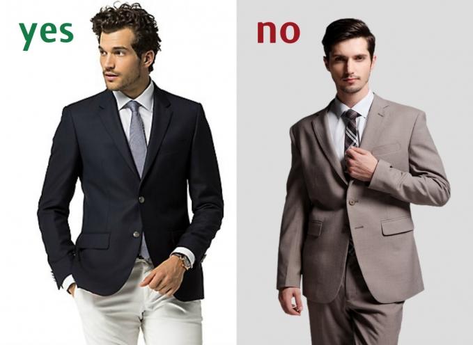 Советы Андре Тана: как понять, что костюм плохо сидит фото
