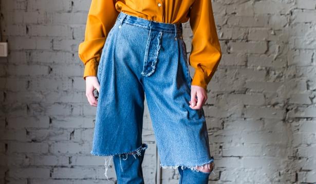 Demi-denims: украинский дизайнер создала самые модные джинсы в мире - фото №1