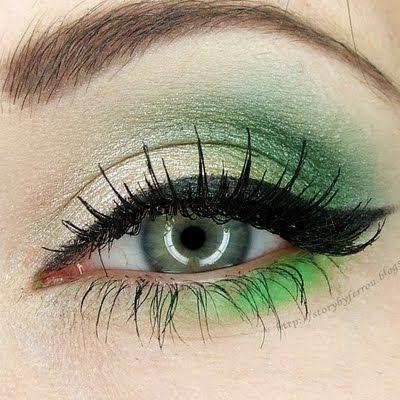 Макияж в зеленых тонах: как носить и зачем он нужен - фото №4