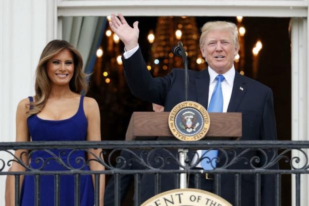мелания трамп фото 2017