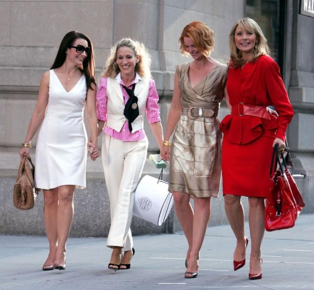 Ким Кэтролл – 60: лучшие образы Саманты Джонс в сериале Секс в большом городе