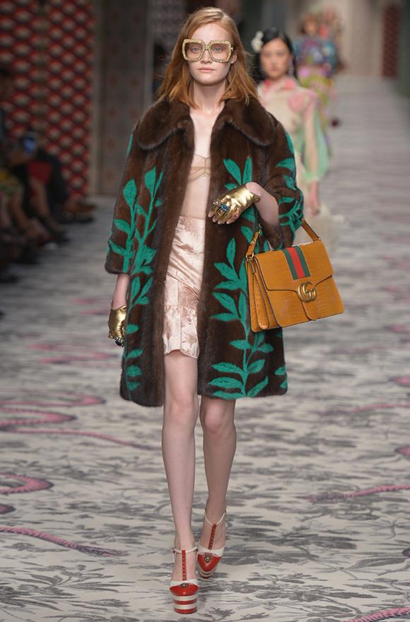 Неделя моды в Милане 2015 Gucci фото