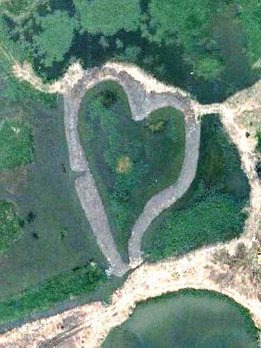 Романтикам на заметку: места на Земле в виде сердца - фото №3