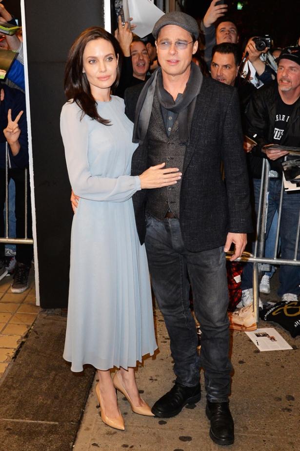 Джоли и Питт Лазурный берег