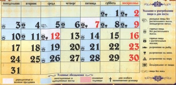 церковные праздники в июле 2017 года календарь