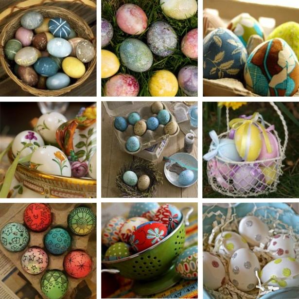 когда печь пасхи и красить яйца
