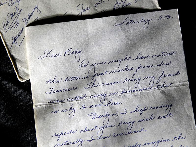 Сколько стоят любовные письма Мэрилин Монро - фото №1