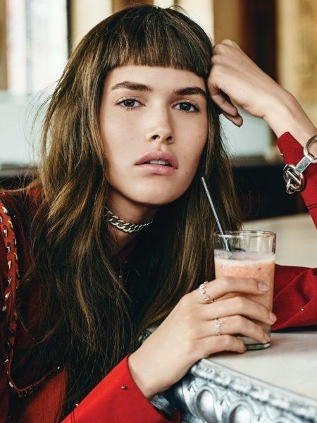 Мода на челки 2017: микрочелка, как новый тренд - фото №3
