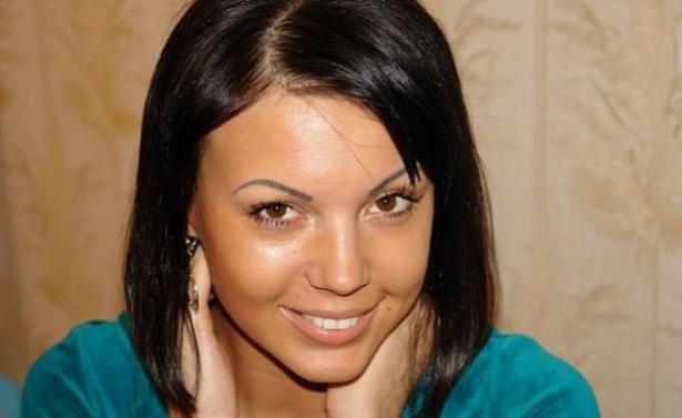 Оксана Самойлова в юности