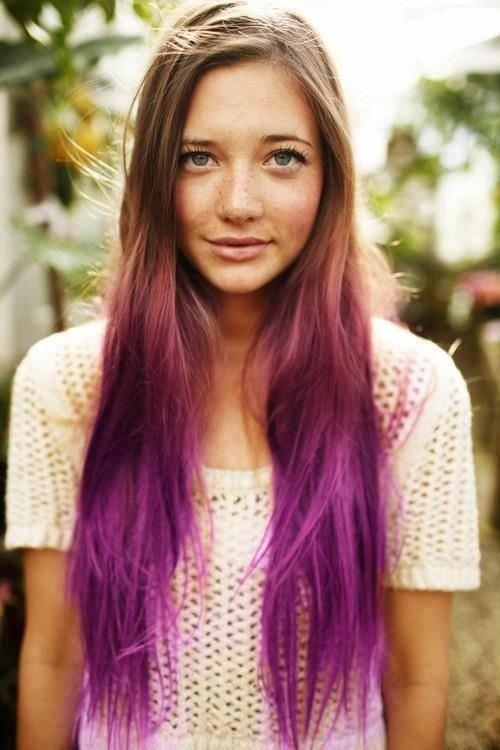 Ombre Hair Color - модный тренд весны 2013 в окрашивании - фото №7