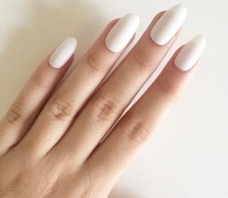 Модная форма ногтей 2016: овальная форма