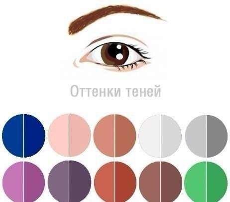 Макияж для карих глаз - фото №1