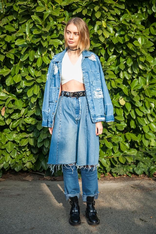 b9049890252 Модная джинсовая одежда для женщин 2017 (фото) — 2018