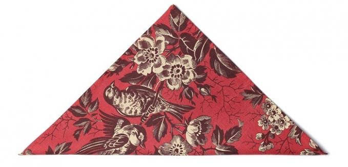 Советы Андре Тана: платок в карман фото