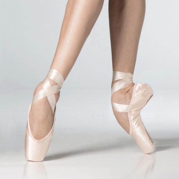 как должна стоять нога балерины