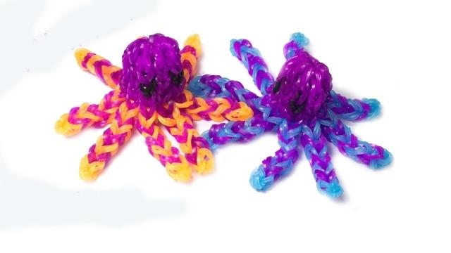 осьминог из резиночек