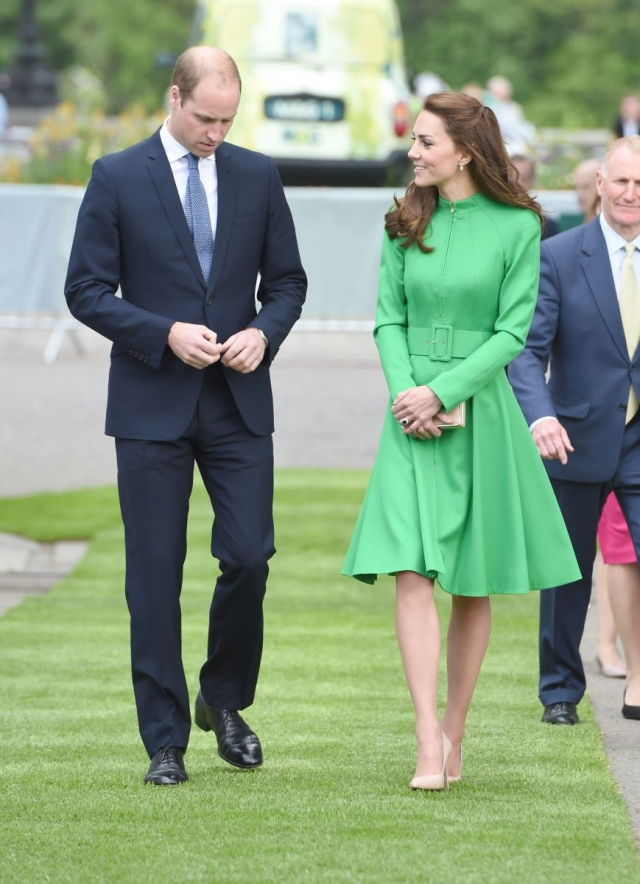 Кейт Миддлтон – 35: десять выходов герцогини, когда она была великолепна в самом модном цвете 2017 года