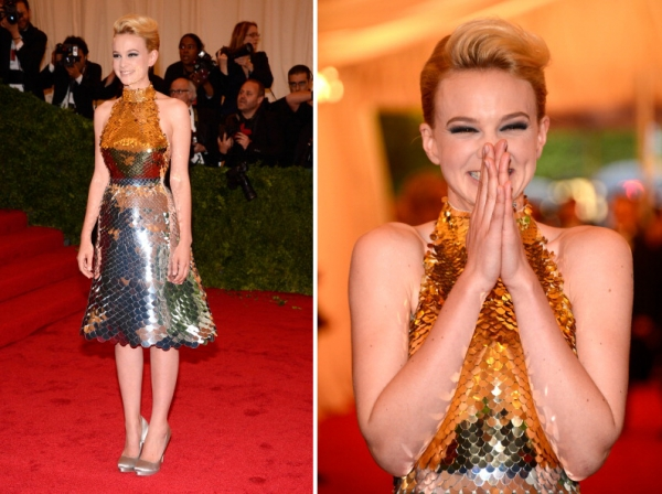 самые известные платья за историю met gala фото      кэрри миллиган met gala 2012 фото