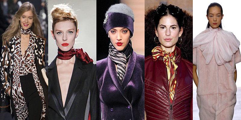 Самые модные шарфы зимы 2013-2014 - фото №1