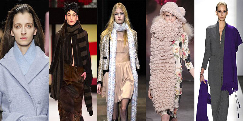 Самые модные шарфы зимы 2013-2014 - фото №4