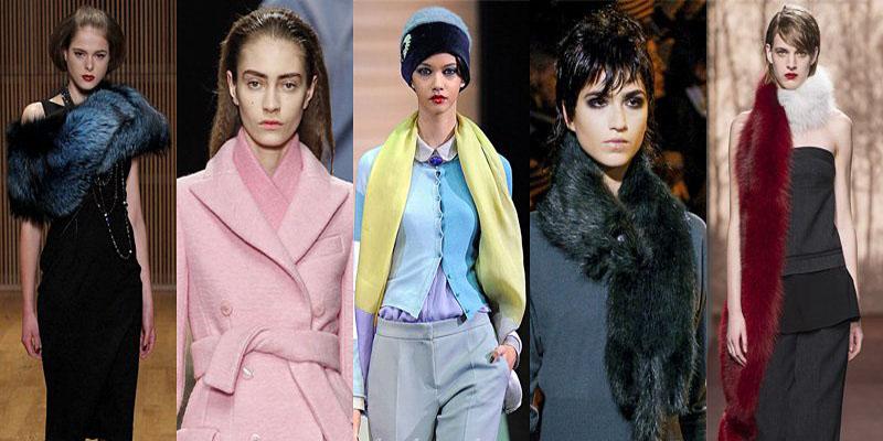 Самые модные шарфы зимы 2013-2014 - фото №5
